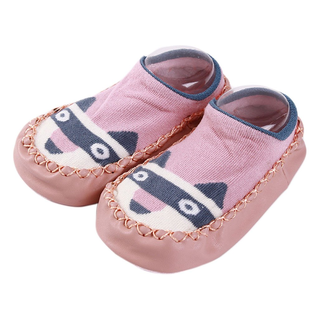 9b1427aa831b4 Lunji Chaussons Chaussette Antiderapante Bebe Garçon Fille Cuir Artificiel  product image