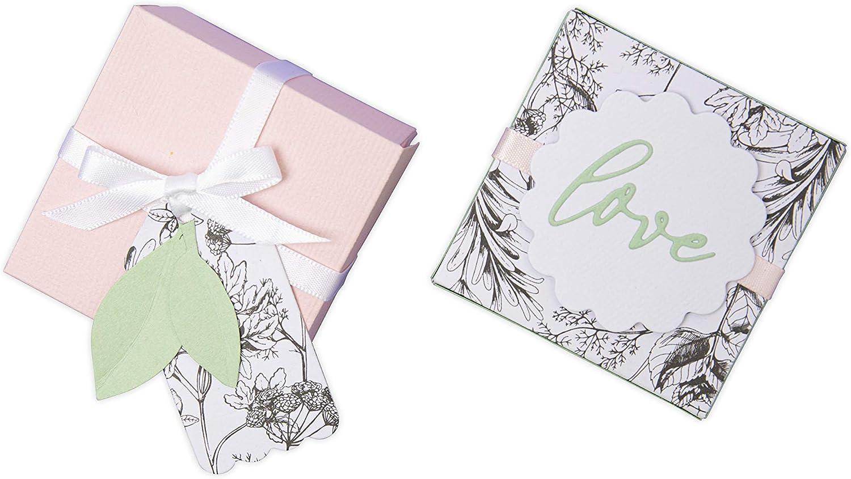 Bo/îte et /Étiquettes by Jenna Rushforth Matrice de d/écoupe Thinlits Plus set de 10pcs 663853