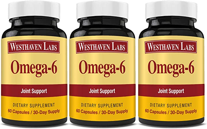 Omega-6 | Green Lipped Mussel |Omega 3 Natural Joint Pain Relief & Inflammation Supplement | Dietary Supplement | 90 Day Supply