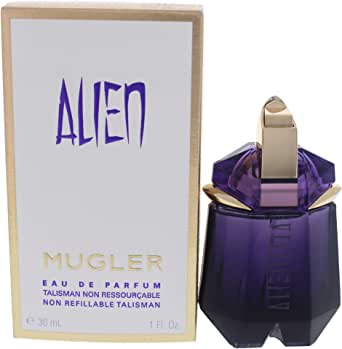 Alien By Thierry Mugler For Women. Eau De Parfum Non Refillable Spray 1 Oz, 30 Milliliter (139951)