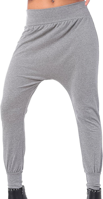 MForshop 00283 Harem Pantalon de surv/êtement pour femme