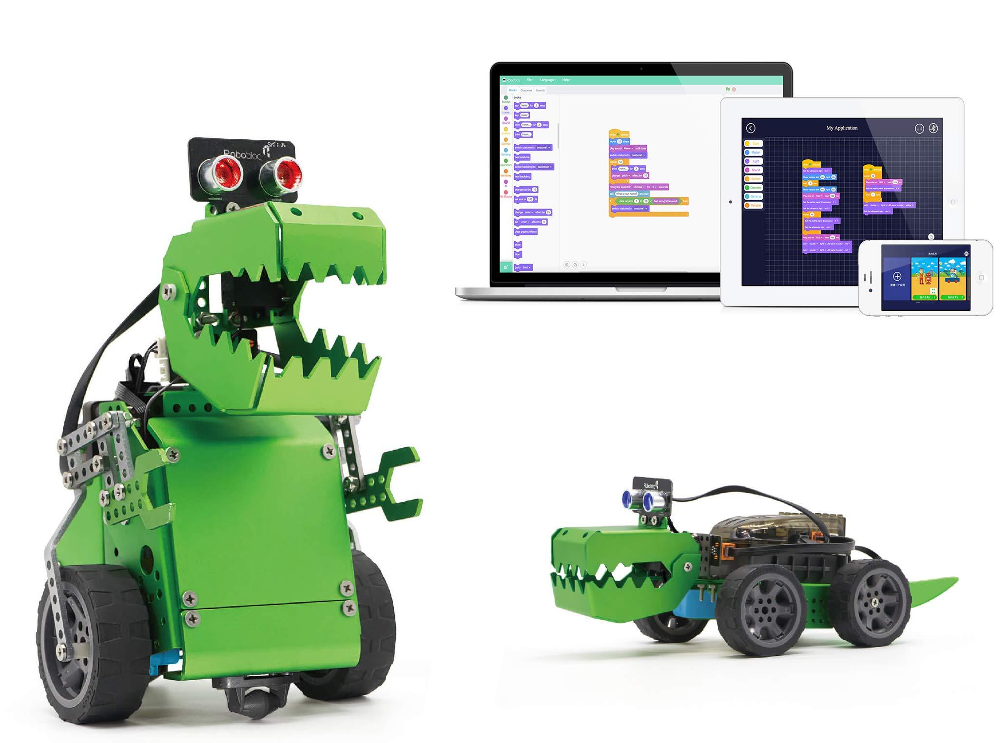 Robot Educativo para armar y programar en Arduino Robobloq a