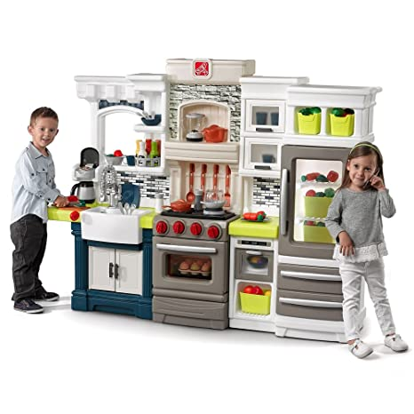 amazon com step2 elegant edge play kitchen playset toys games rh amazon com