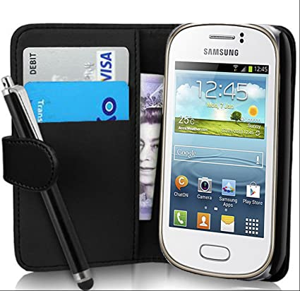 fi9 - Funda tipo cartera para Samsung Galaxy Young GT-S6310 ...