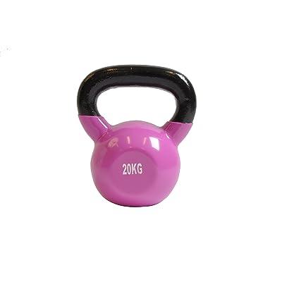 Kettle Bell CONCEPT - 20Kg - Fitness Crossfit Musculation - En Néoprène - Prise En Main Agréable - Homme Femme - Débutant & Expert