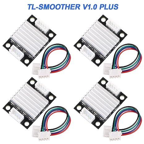 4 Piezas TL-Smoother V1.0 Filtran Impresora 3D con radiador ...