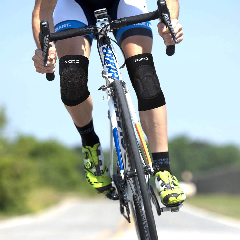 MoKo Protective Knee Pads,Pro Thick Sponge Anti-Slip