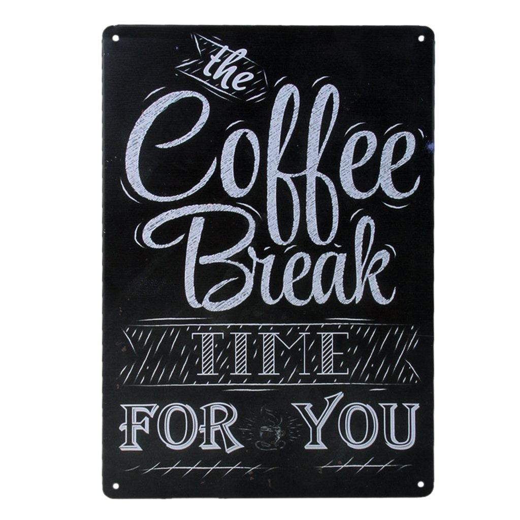 20x30cm Vintage Metal Tin Sign Plaque Wall Art Poster Cafe Bar Pub Coffee #3 Generic USB14019095