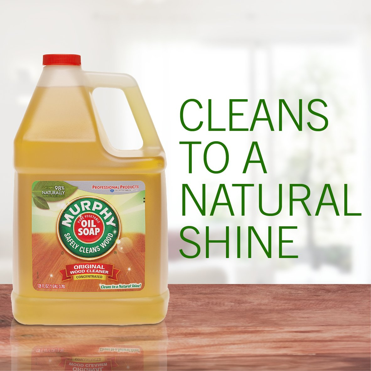 MURPHY OIL SOAP Wood Cleaner, Original, Concentrated Formula, Floor Cleaner, Multi-Use Wood Cleaner, Finished Surface Cleaner, 128 Fluid Ounce (US05480A) by Murphy Oil (Image #3)