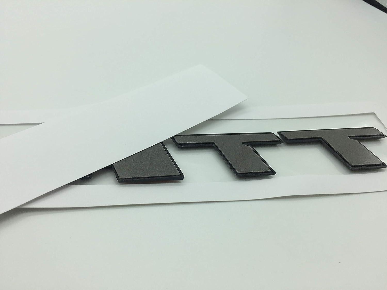 TTRS OEM ABS Nameplate for Audi T T R S TT TTS TTRS Gloss Black Emblem 3D Trunk Logo Badge Compact