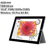 Microsoft Surface 3 Tablet (10.8-inch FHD (1920x1280), 4GB RAM, 128GB SSD, Intel Atom 1.6Ghz, Windows 10 Professional 64 Bit)