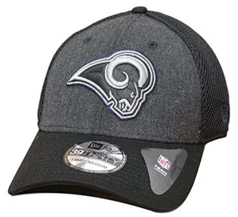 Image Unavailable. Image not available for. Color  Los Angeles Rams New Era  Heathered Neo 39Thirty Flex Fit Hat Cap db6f7468840c