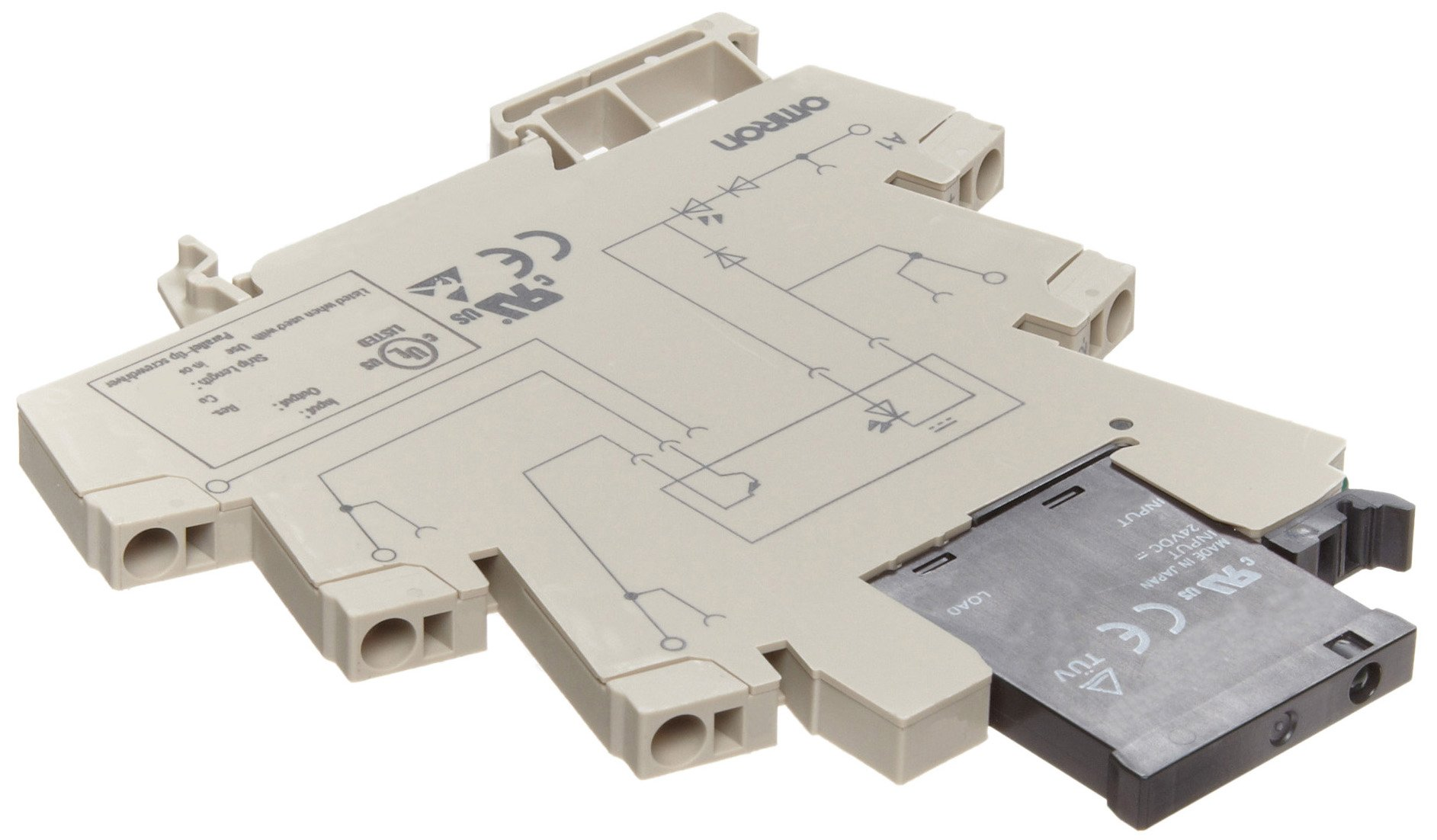 Omron G2RV-SL700 DC12 (DC11) Slim Relay and Socket, 12 VDC Input Voltage, Single Pole Double Throw Contacts