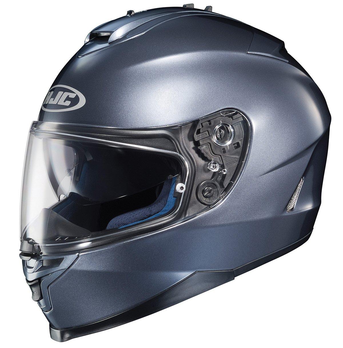 HJC 582-616 IS-17 Full-Face Motorcycle Helmet Matte Black, XX-Large