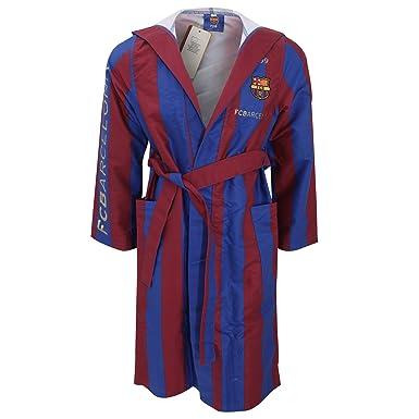 FC Barcelona - Robe de chambre à capuche officielle - Homme (Small ...
