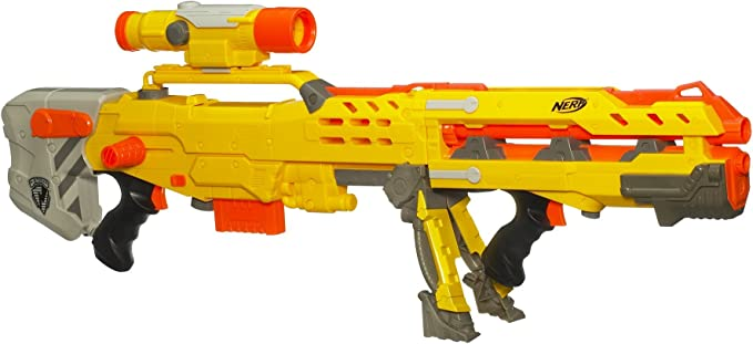Amazon Com Nerf N Strike Longshot Cs 6 Discontinued By Manufacturer Toys Games