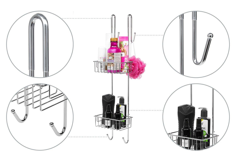 Mensola doccia bamodi u2013 portaoggetti per doccia da appendere