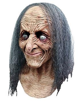 Horror-Shop máscara de Bruja con el Pelo Hagatha