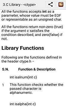 Amazon com: Learn C Standard Library: Appstore for Android