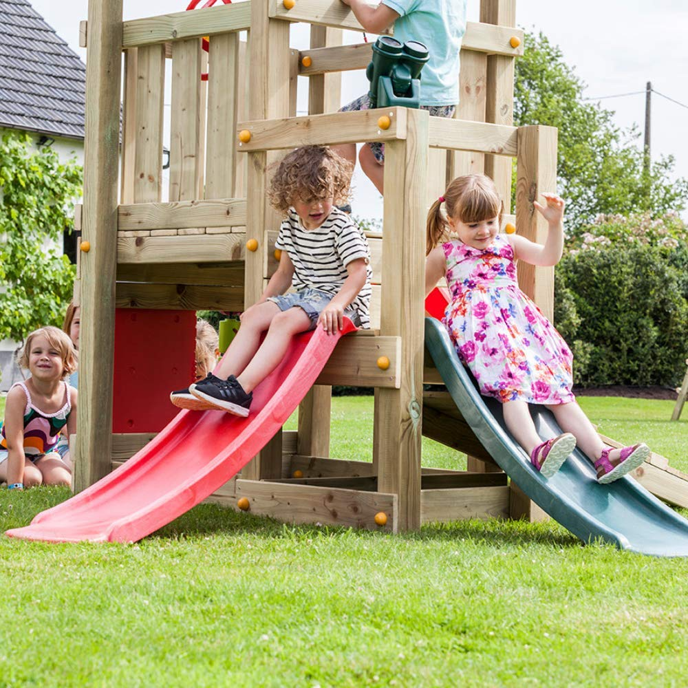 Blue Rabbit Play Outdoor Toddler Slide, 4 Feet, Red by Blue Rabbit Play (Image #7)