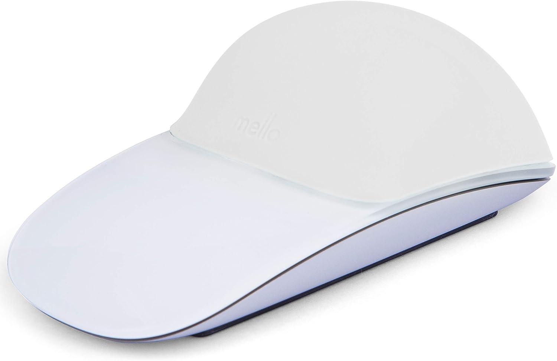 MELLO Silicone Cushion for Apple Magic Mouse 1 & 2 (White)
