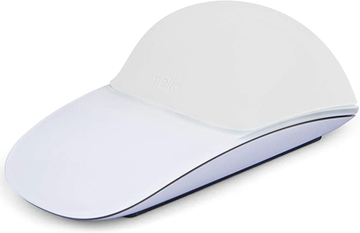 MELLO Silicone Cushion for Apple Magic Mouse 1 & 2 (White)
