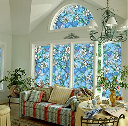 Window Films Pvc Color Frosted Bathroom Glass Foil Bathroom Window Cover  Shade Sun Screen Heat Control