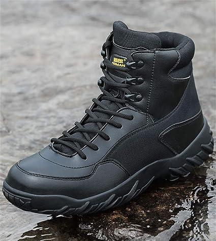 e485d2176cedd Outdoor Men s Trekking Boots Military Hiking Shoes Tactical Combat Boots  Wear-Resistant Sneakers Men Trekking