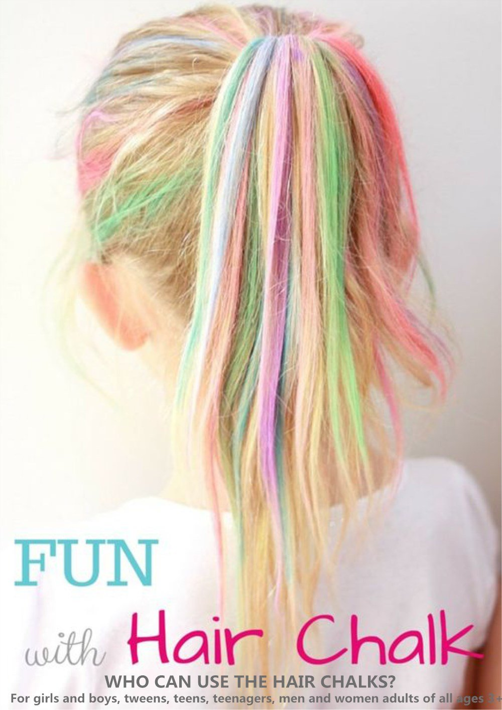 Anngrowy Hair Chalk For Girls Kids Birthday Gifts For Girls Kids