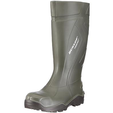 Dunlop S3 Gummistiefel PUROFORT DU762943 Herren Stiefel mit Stahlkappe,  grün (groen) EU 38 434a19f019