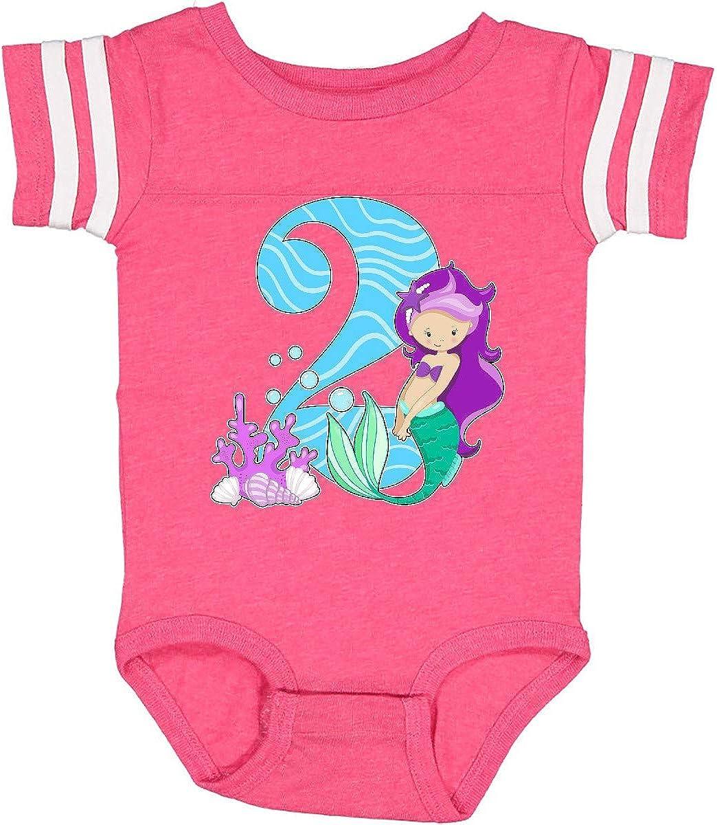 inktastic Second Birthday Mermaid Infant Creeper