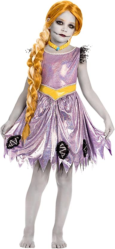 Zombie Disfraz De Rapunzel (Niño): Amazon.es: Ropa y accesorios