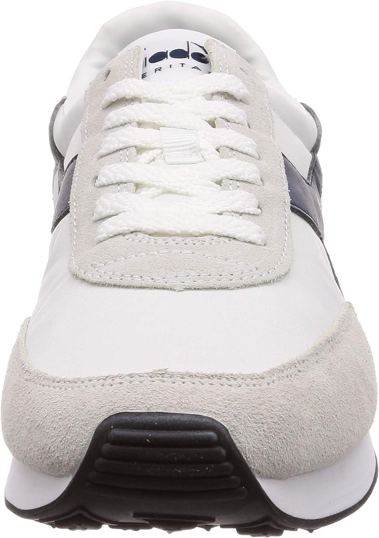 Sneakers Uomo SS 2019 Koala H, in Pelle Scamosciata, Stringate, Logo a Contrasto, Plantare Estraibile, Suola in Gomma Blanc
