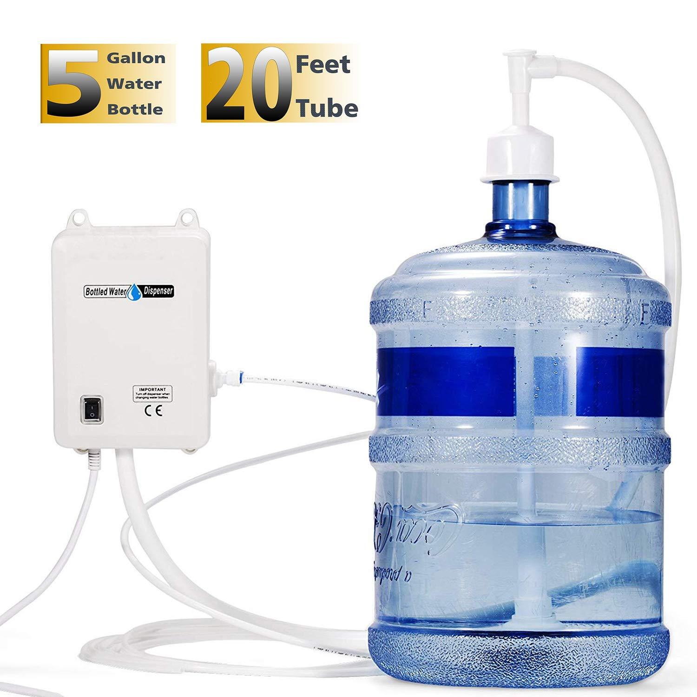 VEVOR 110V Bottled Water Dispensing Pump System with Single Outlet US Plug, Single Inlet by VEVOR