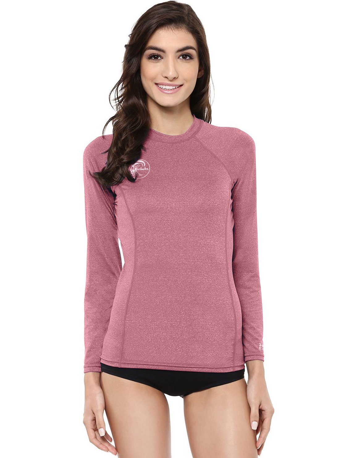 O'Neill Women's Hybrid UPF 50+ Long Sleeve Rash Guard, Mesa Rose, Medium by O'Neill Wetsuits