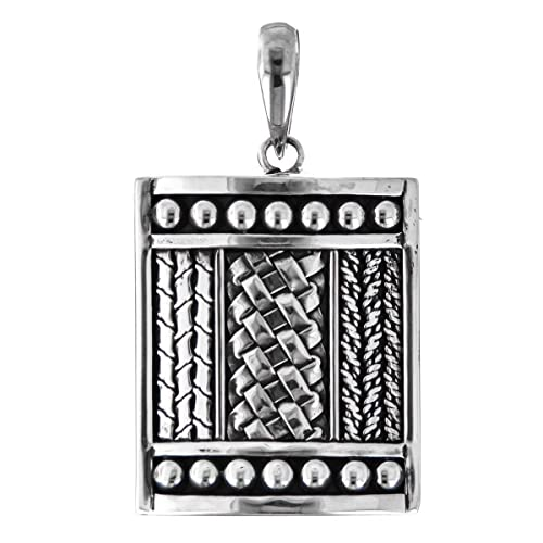 925 Sterling Silver Bali Artisinal Handcrafted Pendant