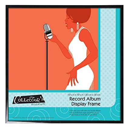 8be1607bb6a1 Amazon.com: MCS 12.5x12.5 Inch Record Album Display Frame, Black (40949):  Home & Kitchen