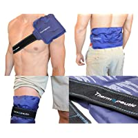 "Thermopeutic Reusable Ice Pack for Injuries and Pain Relief (15"" X 7"") - Extra Cold..."