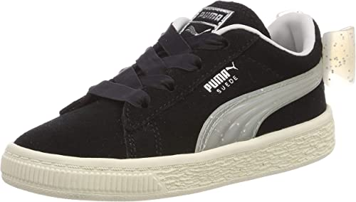 puma suede bow fille