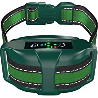 [Upgraded 2020] Bark Collar Professional Dual Vibration Motor - No-Shock Humane V7 for Small and Medium Dogs - Rechargeable Chipset - Anti-Barking Collar to Stop Barks Waterproof - Safe Pet Control