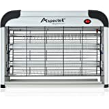 Aspectek - Fly and Insect Killer 20W UV light Attract to Zap Flying Insects Playing Excellent Role as Bug Zapper, Insect Killer, Fly Zapper, Fly Killer, Fly Swatter, Wasp Killer (UK PLUG)