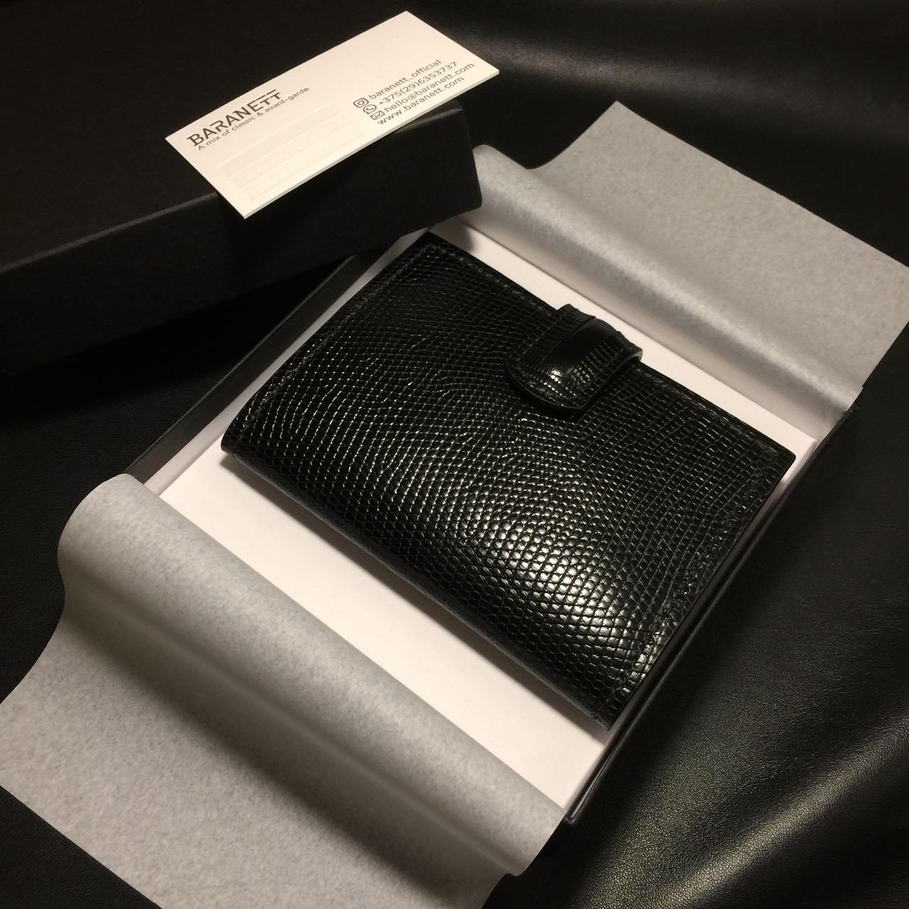Document wallet | Genuine iguana leather document case (Passport holder)