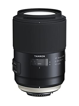 Tamron SP 90mm F/2.8 Di MACRO 1:1 VC USD For Nikon Camera Lenses at amazon