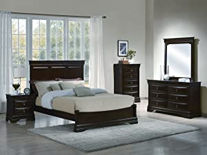 Yuan Tai Lexington 5-Piece Bedroom Furniture Set, Queen
