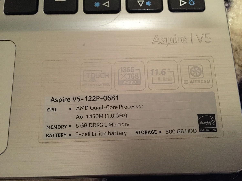 Amazon Acer Aspire V5 122p 0681 116 Touchscreen Laptop