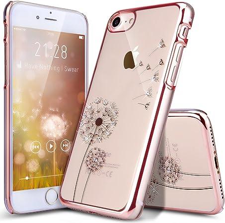 coque iphone 7 transparente silicone avec motif