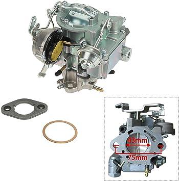 1-Barrel Carburettor Carb W//Choke Thermostat Fit Chevrolet GMC 7043014 4.1L 4.8L