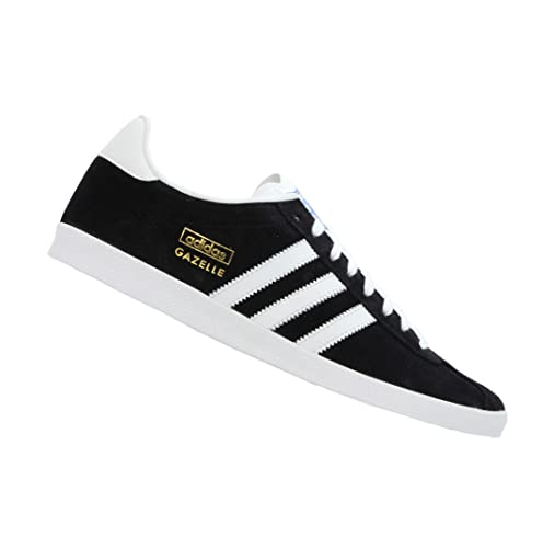 separation shoes bd673 c8605 Adidas Originals Gazelle Og Mens Suede Leather Trainers Lace Up Size (12  UK, Black White FV1) Amazon.co.uk Shoes  Bags