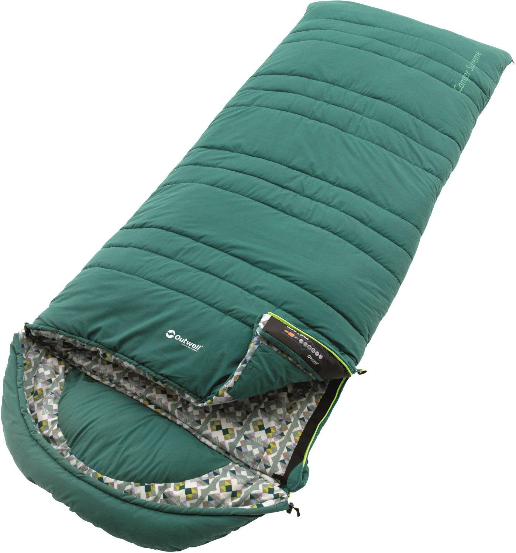 Outwell 4 Season Camper Supreme Sleepingバッググリーン B07882BDJ2