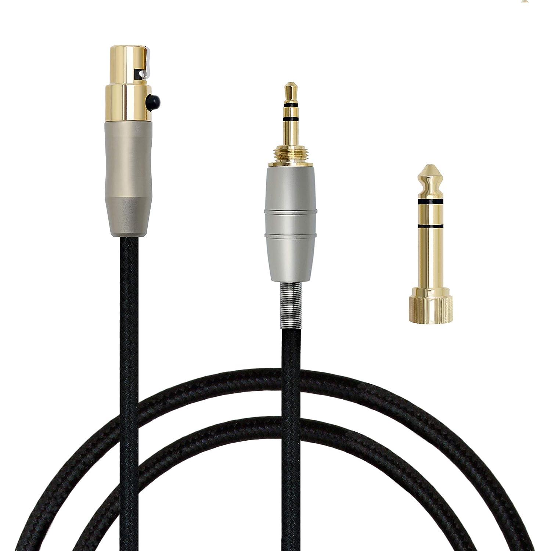 para AKG K702/Q701/K271s K240sK141/K171/K181/K240 auriculares Pioniere HDJ-2000 Cable de 3 m para montaje
